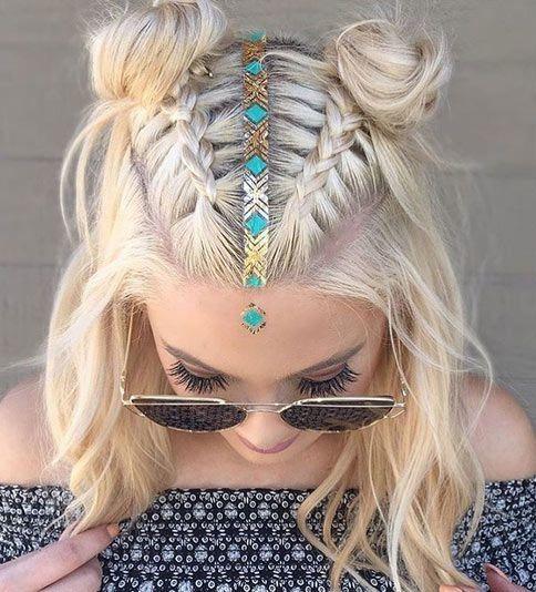 20 Belles Coiffures Tressees Pour Cheveux Courts Belle Coiffure Coiffures Simples Cheveux Courts