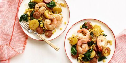 Best Lowcountry Skillet Recipe-How to Make Lowcountry Skillet-Delish.com