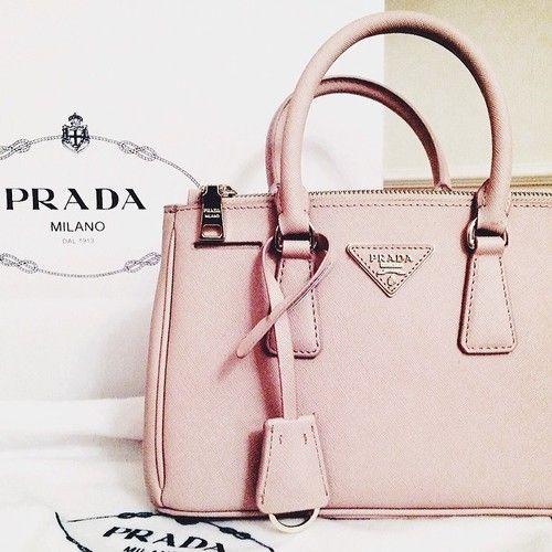 prada purses outlet price - Pink Prada   via Tumblr style #Prada #handbag   Lovely handbags ...