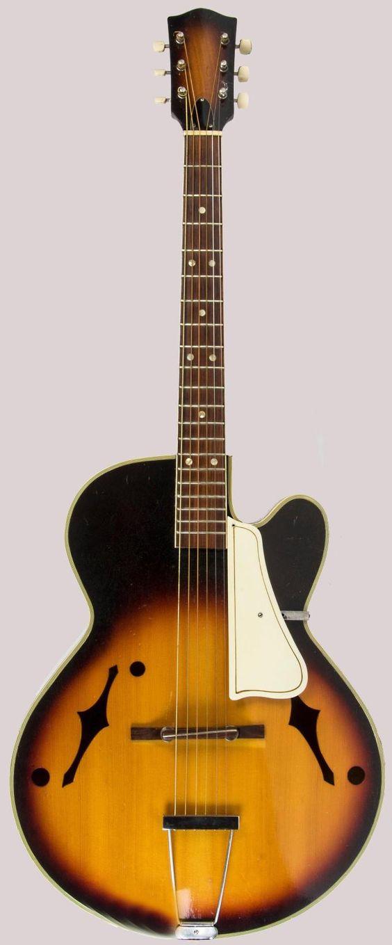 Suzuki mij archtop guitar