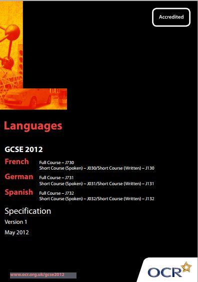 Ocr spanish gcse exam?