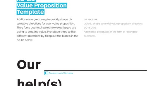 ad-lib-value-proposition-templatepdf Marketing Pinterest Ad - value proposition template