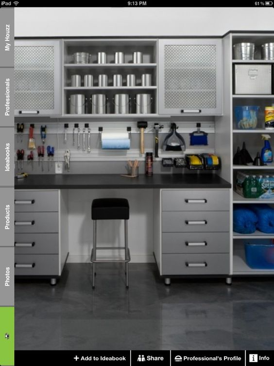 My dream garage is this organized