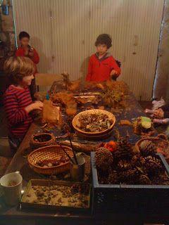 La Compagnie Qui-Va-Nu-Pieds: Ateliers avec les enfants au rythme des saisons Créer sa maison des lutins