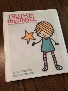 Foster Creativity: Truth in the Tinsel: An Advent Calendar