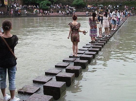 """Fenghuang - a unique """"bridge"""", Fenghuang, China:"""
