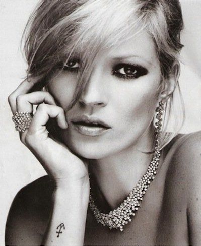 Kate moss is 40 anchor tattoos anchors and kate moss for Kate moss tattoo