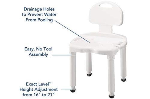 Top 10 Best Adjustable Shower Chairs Shower Chair Chair Adjustable