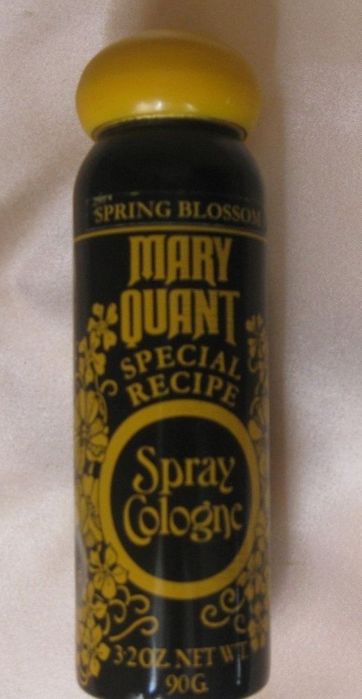 Vintage Mary Quant Spray Cologne ~ Spring Blossom ~ Special Recipe 3.2oz…