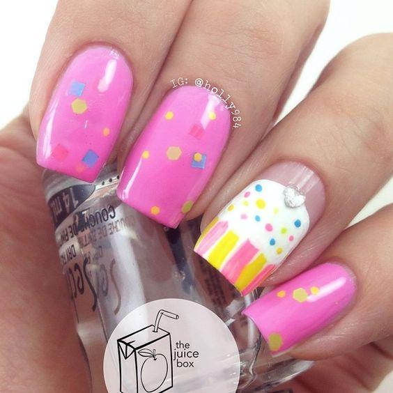 Cupcake Nails 1