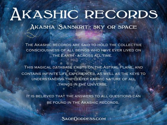 The #Akashic Records are said to hold the collective consciousness of all beings who have ever lived on the Earth - across all time. This magical database exists on the astral plane and contains infinite life experiences, as well as the keys to understanding the deeper karmic nature of all things in the #universe. #Spiritual: