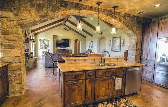 Plan w64003bb ranch country exclusive corner lot for Country kitchen house plans