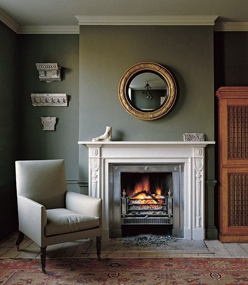 fireplaces convex mirror and mirror on pinterest