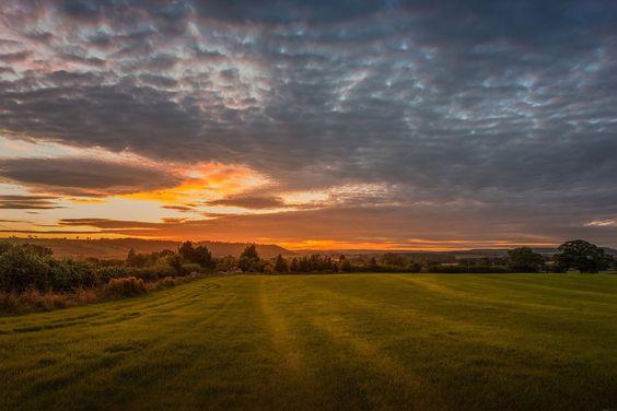 Bridgnorth Autumn Sunset. by EncroVision on 500px