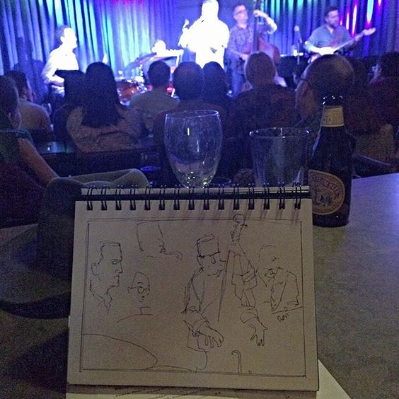 Local boys kickin' some funky jazz! Nontch Harpin! #Sketch