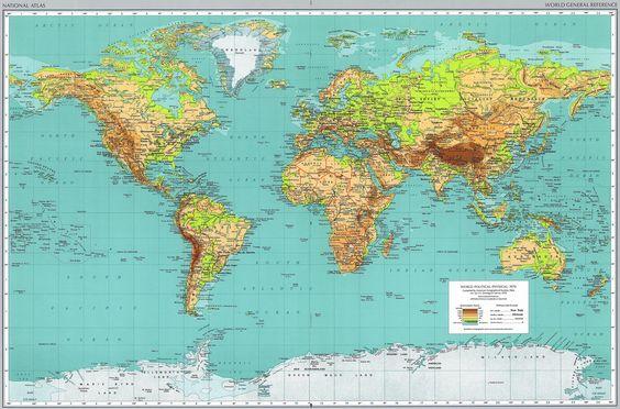 Guayaquil Mapa Mundial  3