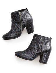 Soho Ankle Boot (Black Multi Glitter) Boden