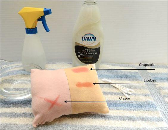 Cleaning waldorf dolls -  Eliminación de manchas en su muñeca Bamboletta