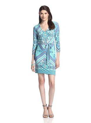 52% OFF Ali Ro Women's Jeffie V-Neck Dress (Dungaree)