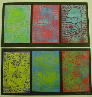 ABC  School Art: Pop Art Prints - (5th)