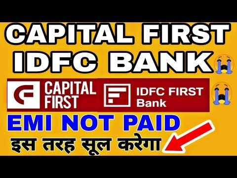 7061879075 Idfc First Loan Customer Care Number Youtube In 2020 Capital One First Bank One