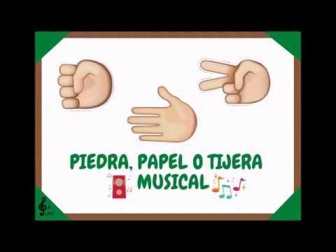 Piedra Papel O Tijera Musical Youtube Letras De Canciones Infantiles Juegos De Educación Musical Actividades Musicales Para Niños