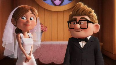 Carl and Ellie's Wedding by ~08newmanb on deviantART