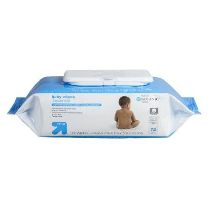 Great for at home or on-the-go! up&up® Baby Wipes Unscented 72 ct. @Target #TargetFind http://goo.gl/SjXlB1 #ad #bh