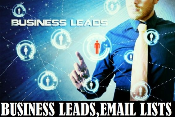 provide you Business Leads, Business Email for MARKETING by umair107