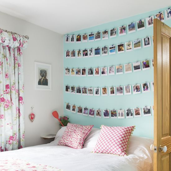 Creative Ways To Decorate A Feature Wall You Wonu0027t Have Thought Of |  Polaroid Photos, Polaroid And Photo Galleries