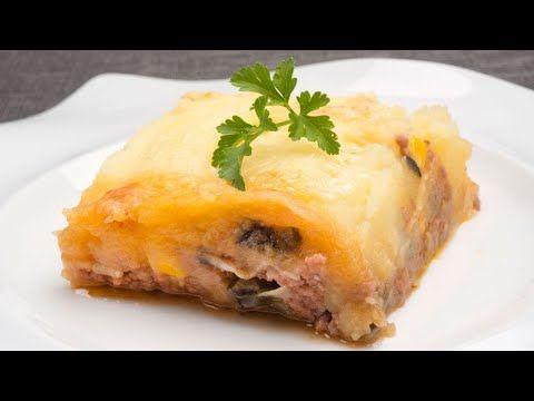 Pastel De Carne Berenjena Y Patata Karlos Arguiñano Youtube Pastel De Carne Receta Pastel De Carne Pastel De Carne Picada