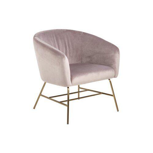 Rundsessel Cribb Fairmont Park Polsterfarbe Altrosa Beinfarbe Gold Furniture Chair Home Decor