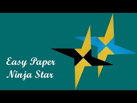 How To Make a Paper Transforming Ninja Star - Origami - YouTube | 360x480