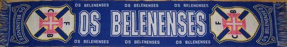 FURIA AZUL - ULTRAS BELENENSES: Primeiros cachecóis do Belenenses em malha