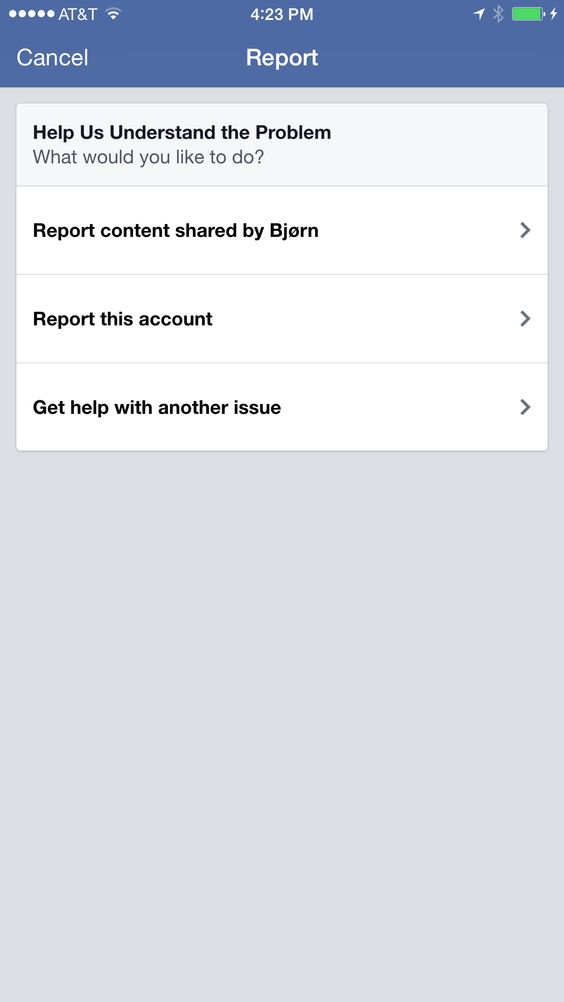 Instagram Report Confirmation  Ui Review Spam  Abuse