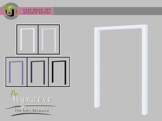Faze Build Set Double Arch Found In Tsr Category Sims 4 Arches