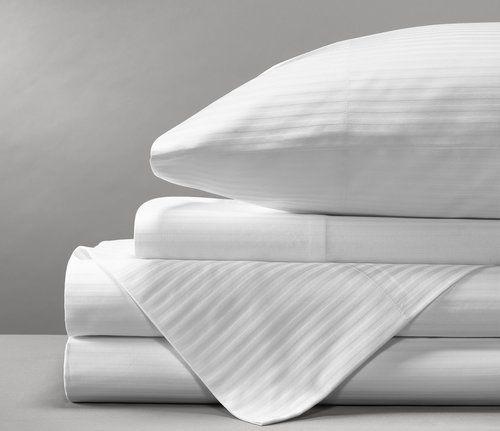 Sateen Striped Sheet Set From Boll Branch Striped Sheets Designer Bed Sheets Sheet Sets
