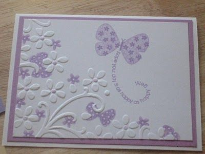 Dry Embossing with Color