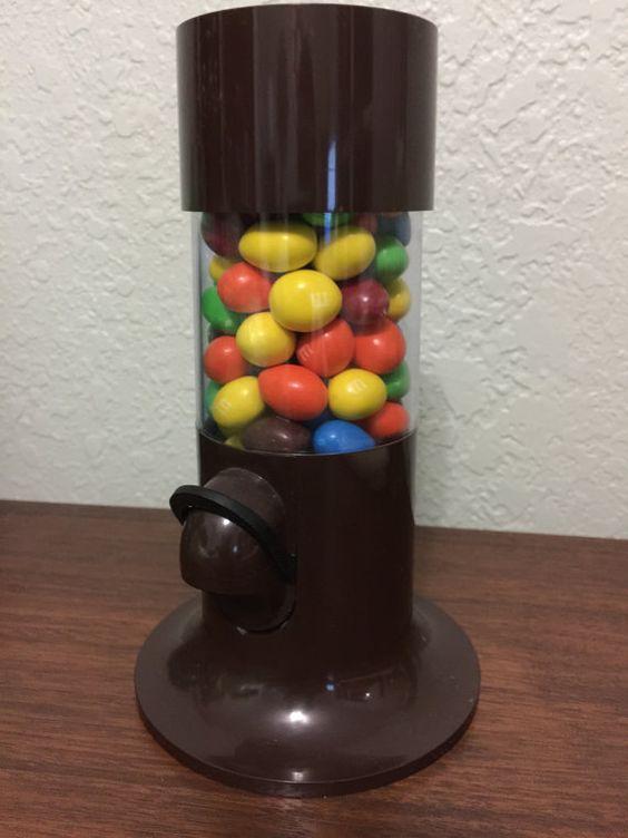 Vintage Brown Carousel Nut Dispenser - Denmark