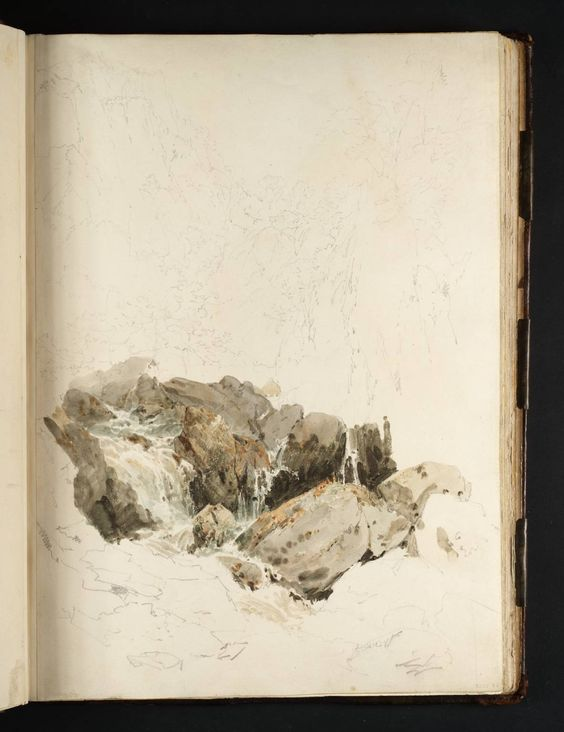 JMW Turner, Tweed and Lakes Sketchbook [Turner Bequest XXXV] | Tate