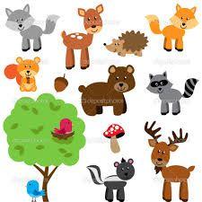 woodland animal cartoons - Google Search