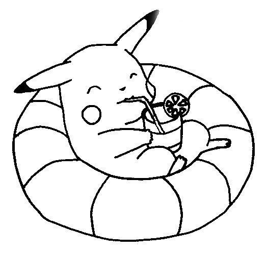 Coloriage A Imprimer Pikachu.Coloriage A Imprimer Pikachu 13 Moyen Coloriage A Imprimer