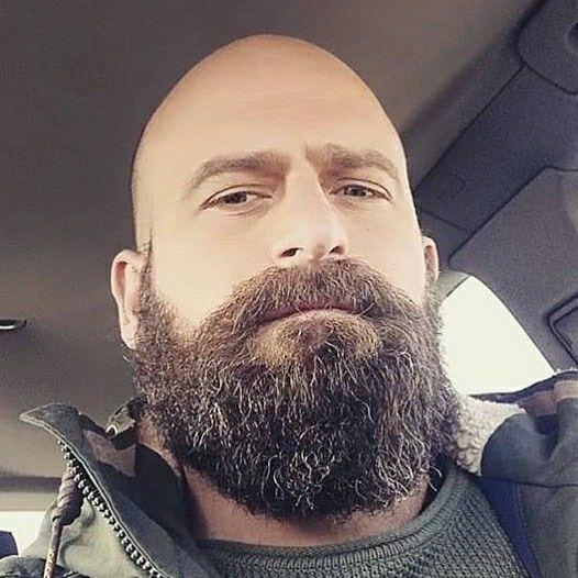 Glatze vollbart Glatze Und