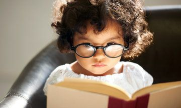 What is true for kids that always have their noses in books!
