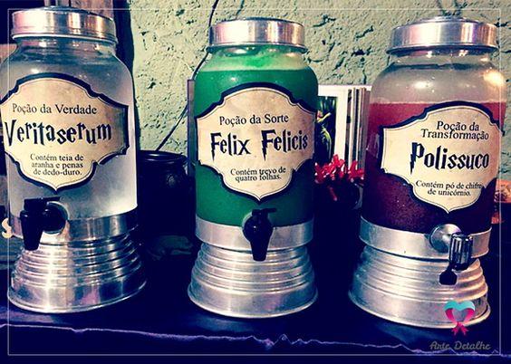 Harry Potter - Rótulo para Suqueira