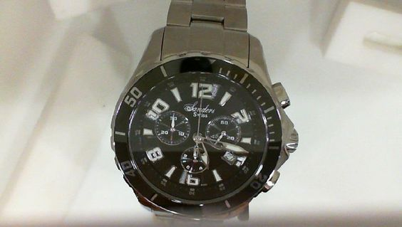 Does dad need a new watch this year for Fathers Day? If so here is the perfect watch for dad! Water resistant 660 feet, Ceramic-Steel Luminous, One-direction click bezel, Screw down crown, Sapphire Crystal, Swiss Chronograph