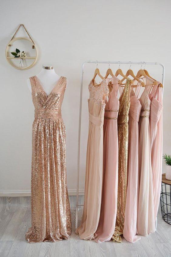 Stunning Peach Summer Dress