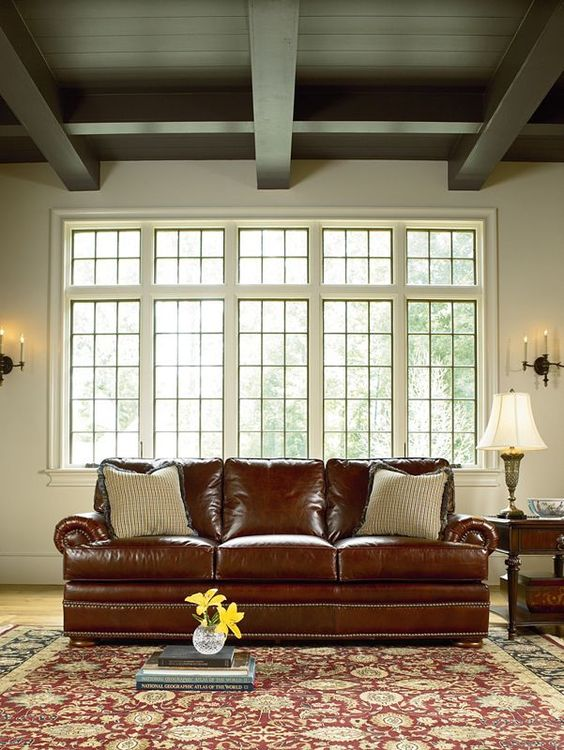 Leather Choices Collection - Ashby Sofa #ThomasvilleFurniture #Leather