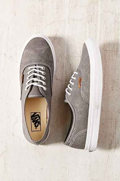 76859fc985aa83 washed authentic slim vans tan woman