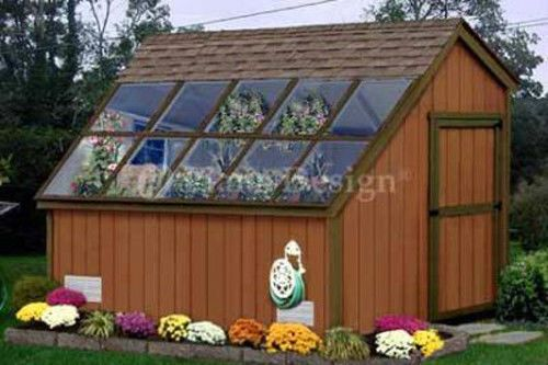 10 x 8 Greenhouse Garden Shed Plans 41008 | eBay  REALLY like this one!!